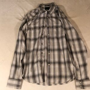 Men's Lucky Brand Classic Fit Snap Button Down